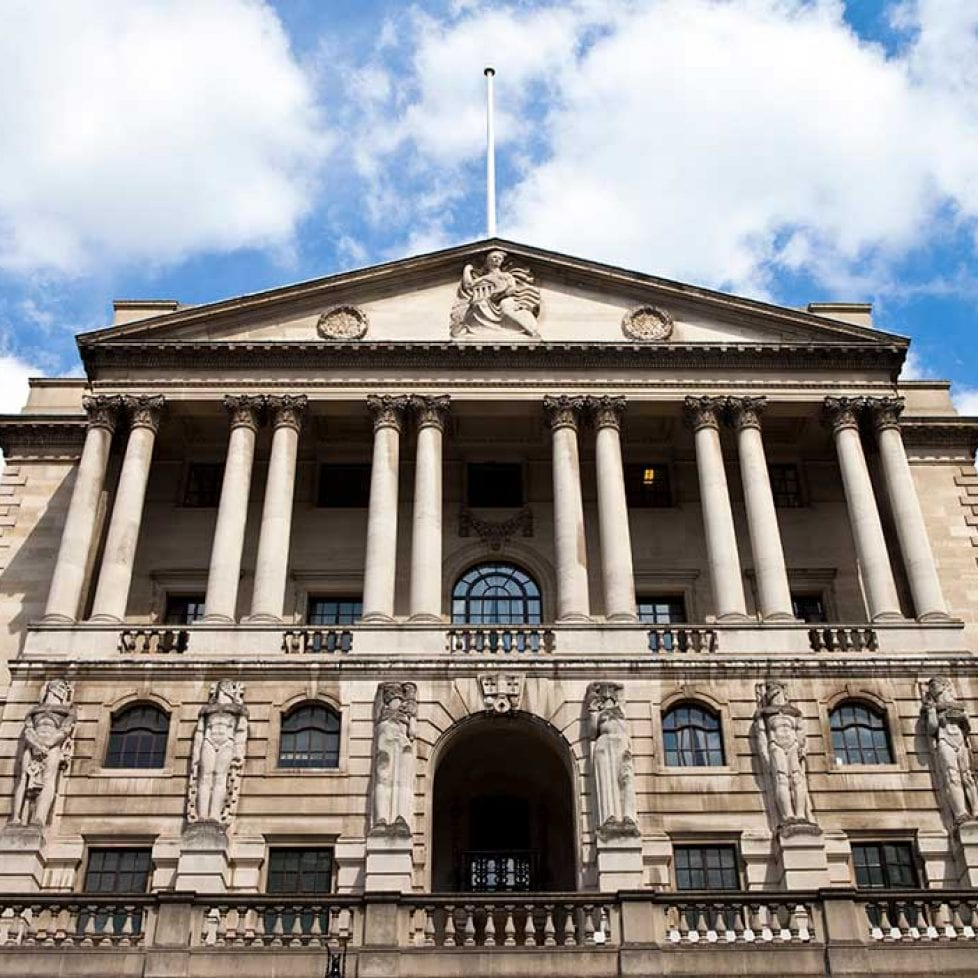 Change of heart from the Bank of England