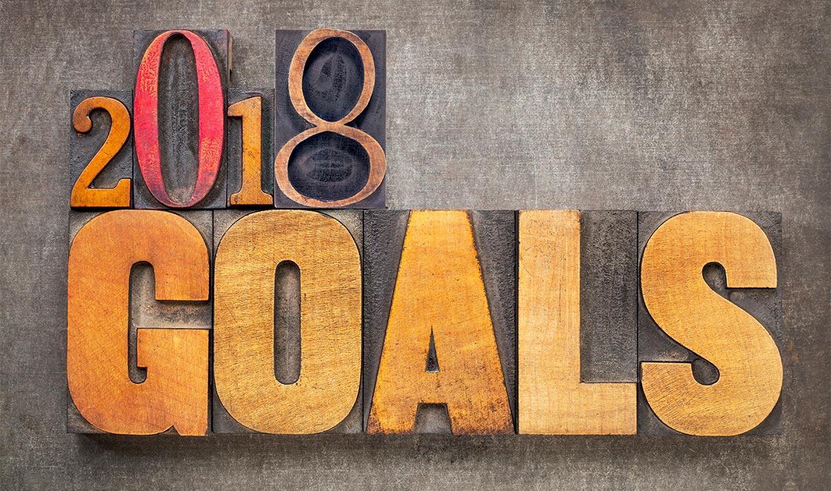 financial goals for 2018