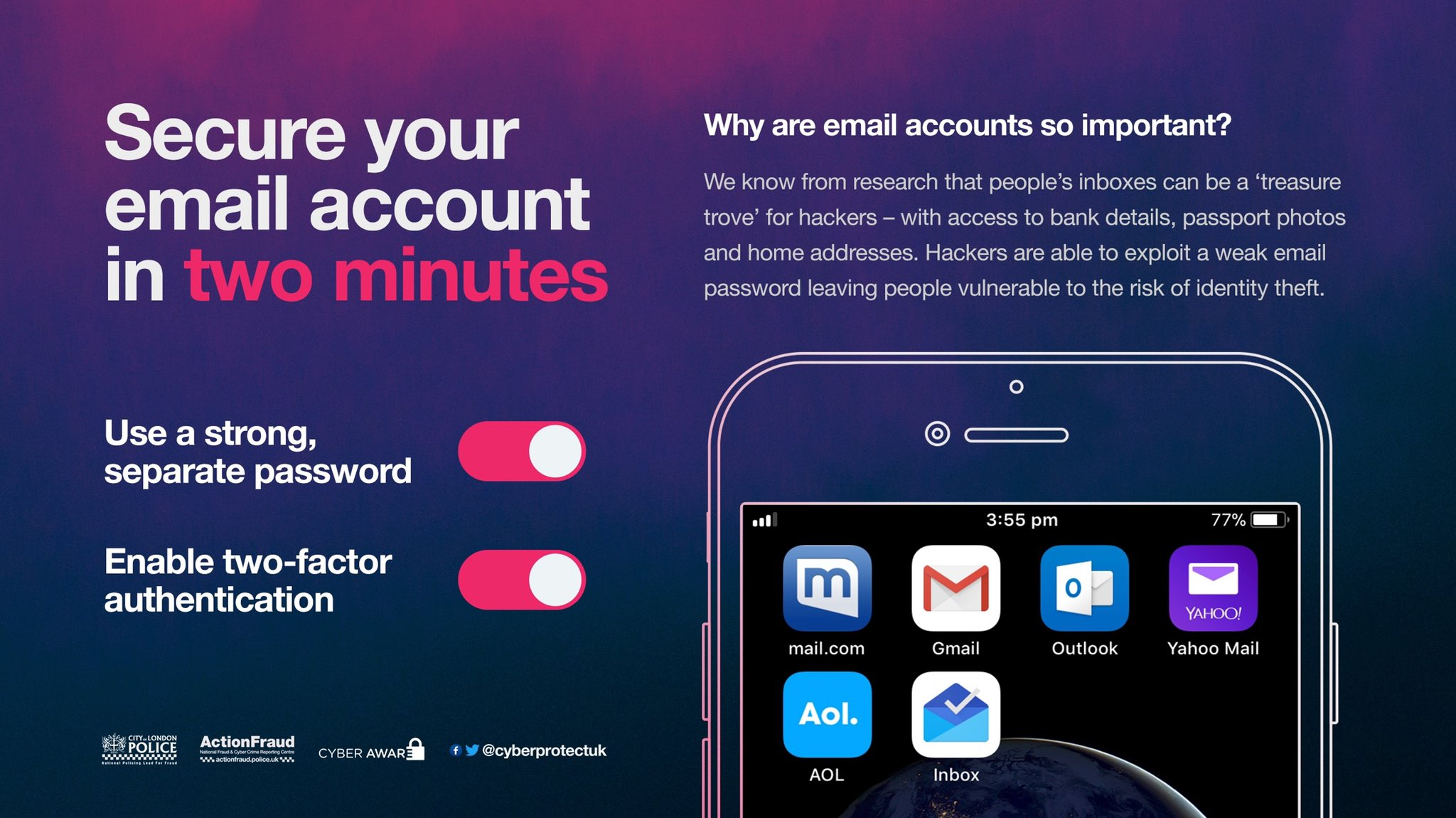 Is your email account secure?