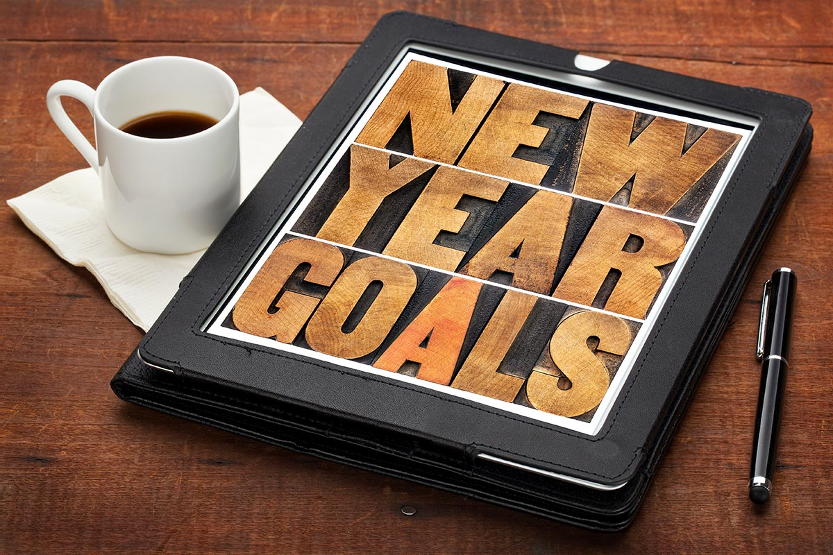 Shake up your New Year's resolutions